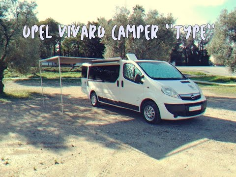 opel vivaro camper type acl camper youtube. Black Bedroom Furniture Sets. Home Design Ideas