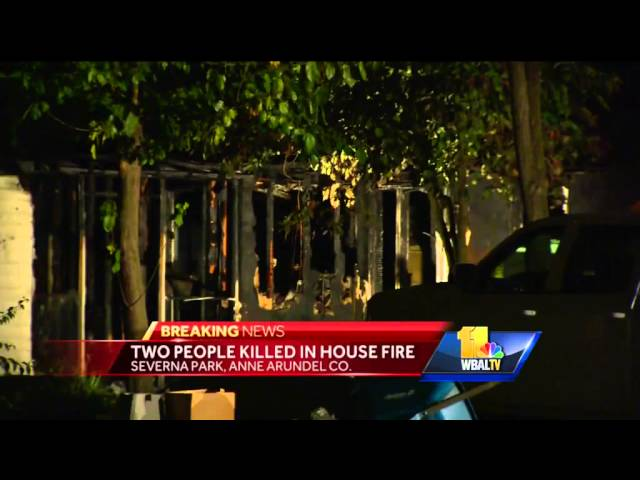 Two killed in Severna Park house fire