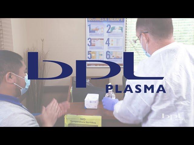 BPL Plasma - CDC Practiced Guidelines