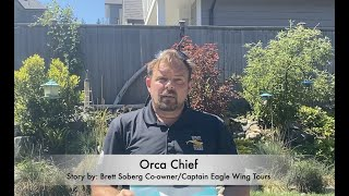 World Oceans Week Victoria story reading: Orca Chief with Eagle Wing Tours, Victoria, BC