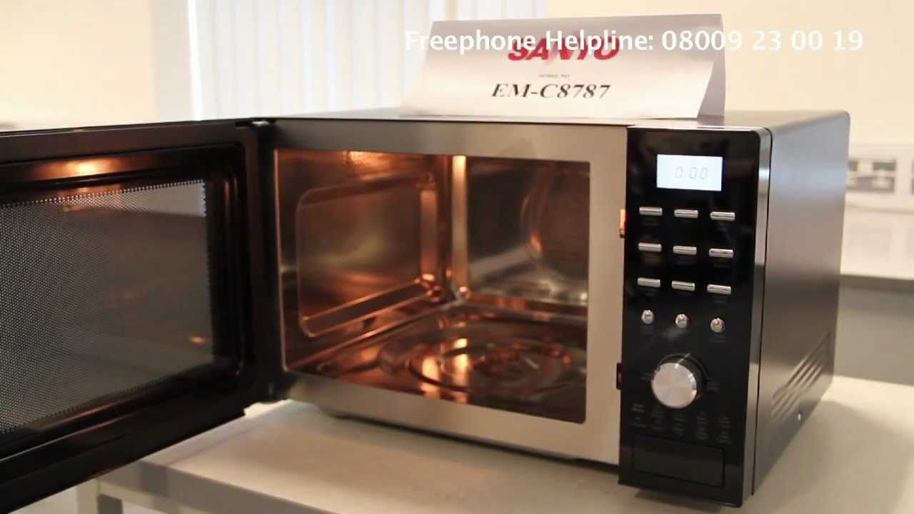 sanyo microwave oven recall video