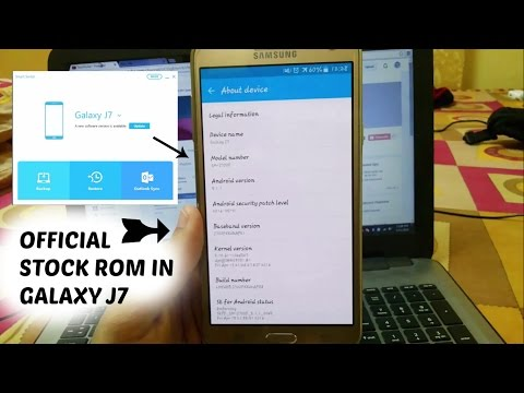 How To Install Original Stock Rom In Samsung Galaxy (J7/Others) #Part 1