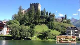 Camping Tirol im Sommer am Aktiv-Camping Prutz / Tirol