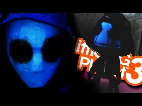 LittleBigPlanet 3 - EYELESS JACK CREEPYPASTA! - (Little Big