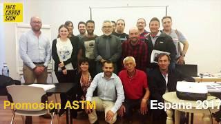 Cierre de Curso ASTM España  - Ing. Abel De la Cruz