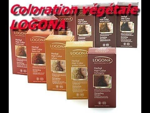 coloration vgtale logona avantaprs chtaigne youtube - Coloration Logona