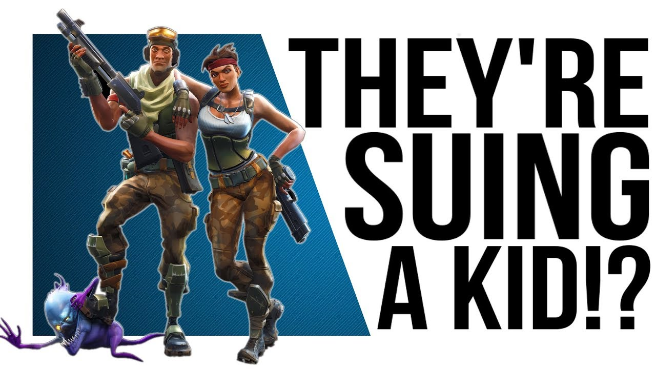 Epic Games sue 14-year-old Fortnite cheater, get destroyed by his mum