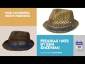 Fedoras Hats By Ben Sherman Our Favorites Men's Fedoras