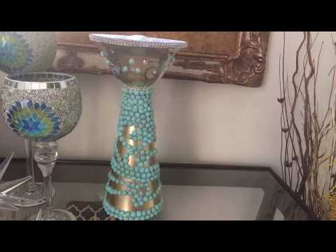 Dollar Tree: DIY Night Light Glam Home/Room Lamp Toys Megaphone Decor Elegance For Less 2018