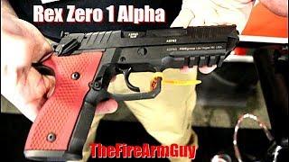 NEW Rex Zero 1 Alpha Competition Pistol - TheFireArmGuy