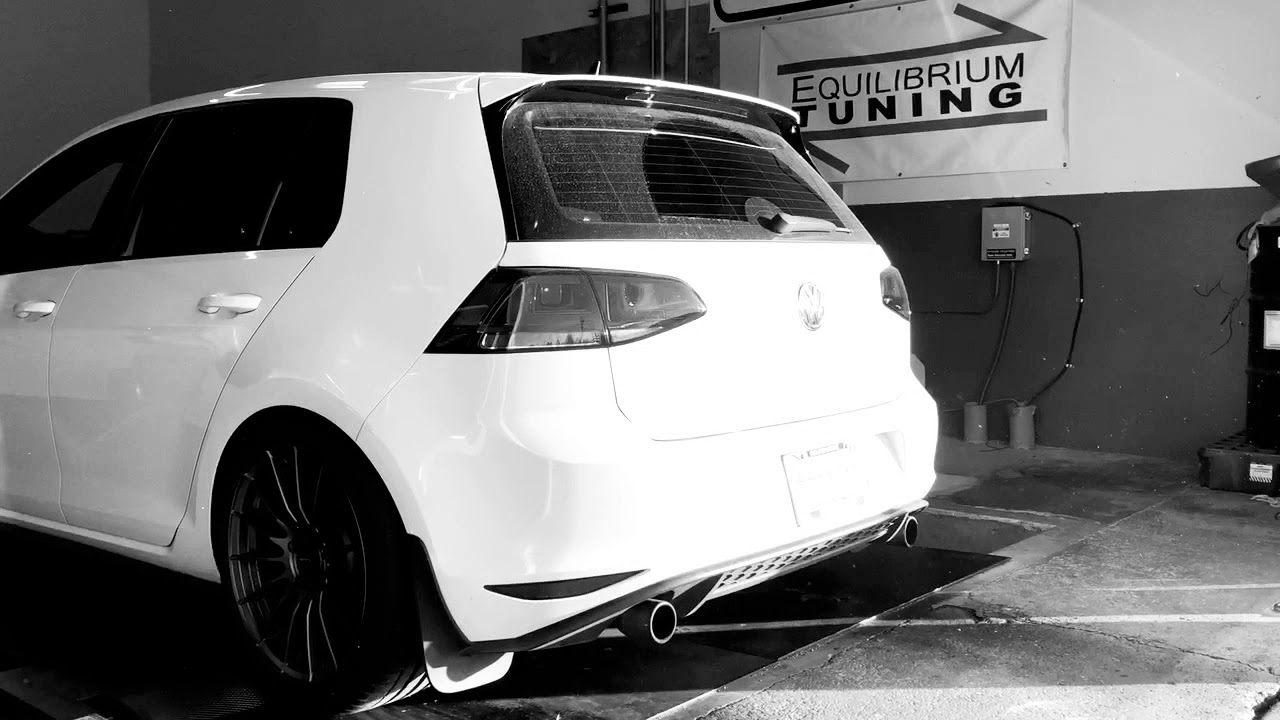 MK7 GTI Pops and Crackles tune using Cobb Accessport by eqtuning