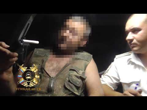 В Туркменском районе задержали пьяного водителя