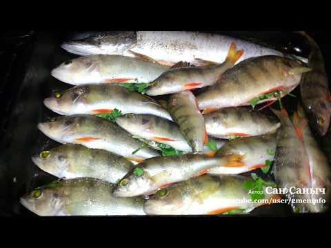 Запеченная рыба, окунь и щука запеченные в духовке