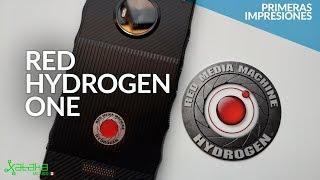 Red Hydrogen One en México: PRIMERAS IMPRESIONES del smartphone con pantalla