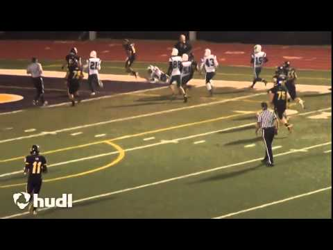 Logan Reynolds Festus Football -game highlight 2014