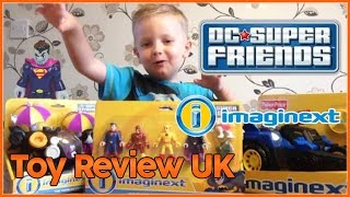 Imaginext DC Superfriends Unboxing - Toy Review UK