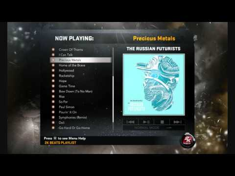 NBA 2K11 Soundtrack - Russian Futurists - Precious Metals