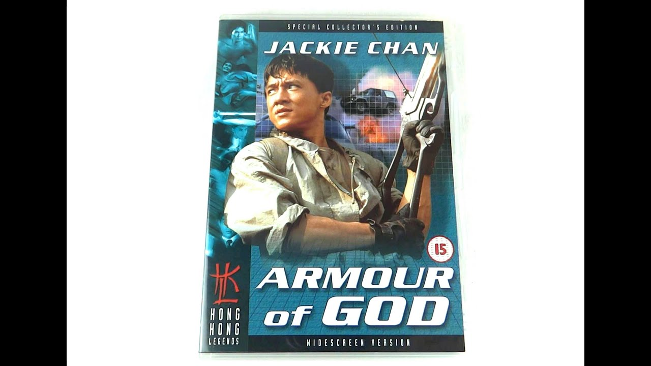 armour of god jackie chan 1986 uk dvd hong kong legends