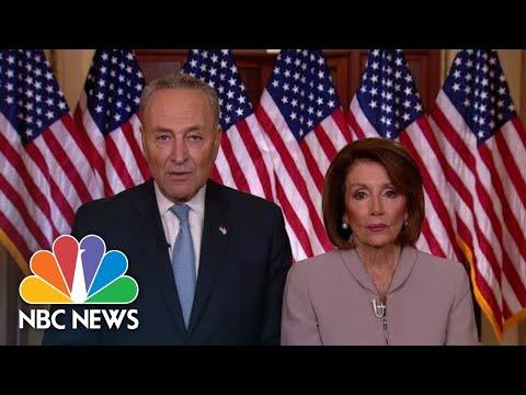 Watch Democrats Respond To President Donald Trump's Immigration Speech | NBC News