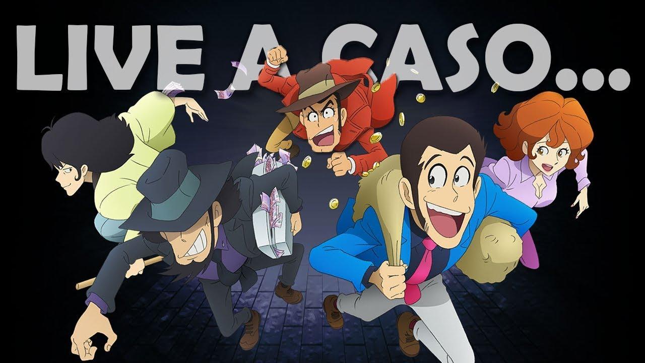 Commentiamo Insieme Le Puntate Di Lupin III (DI NUOVO) • LIVE A CASO...🎙️| Lupin Channel