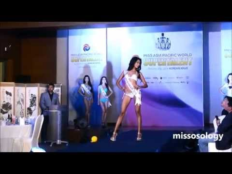 Miss Myanmar, May Myat Noe - Miss Asia Pacific World 2014 Swimsuit Competition