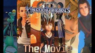 Kingdom Hearts 3 The Movie (Japanese Audio) - All Cutscenes