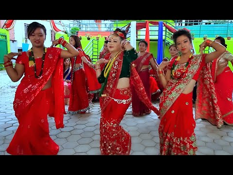 Teejko Sero Fero - Srijana K.C. and Pramila Pun - Teej Song | New Nepali Lok Dohori Song 2016