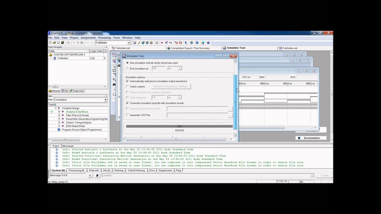 Quartus ii introduction using schematic designs.