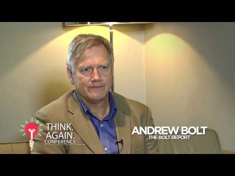 THINK AGAIN - An Interview with Andrew Bolt