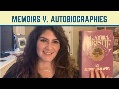 What's The Difference Between Memoir And Autobiography?