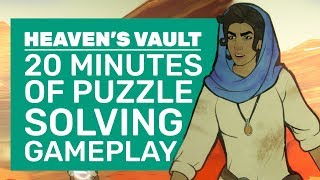 Heaven's Vault Gameplay | How Inkle Made The Greatest Archeology Game