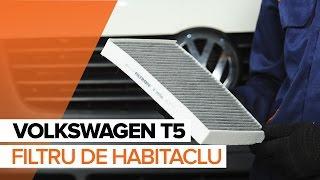 Instrucțiuni video pentru VW TRANSPORTER