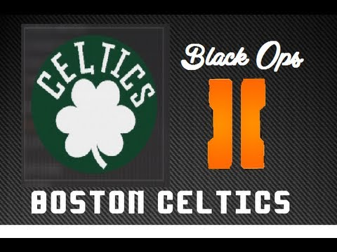 Black Ops 2 : How to make Boston Celtics Emblem!