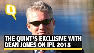 Former Australian Player Dean Jones talks to The Quint about IPL Auction 2018 | The Quint