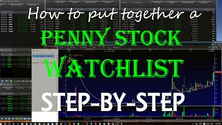 How To Put Together A Penny Stock Watchlist (Step-by-Step)