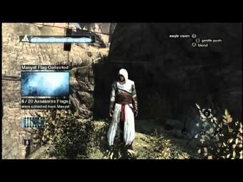 Assassin S Creed All 20 Assassin S Flags In Masyaf 1 2 Youtube