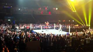 WWE Randy Orton and Mark Henry Spinnaroonies Liverpool Echo Arena Smackdown 2011