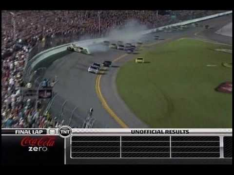 "NASCAR On TNT Coke Zero 400 Last Lap ""Big One"""