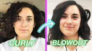 How Long Can My Curly-to-Straight Blowout Last?