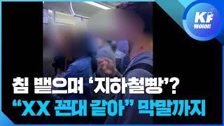 열차 안 흡연 30대 남성…수유역서 내려 시민 폭행까지…