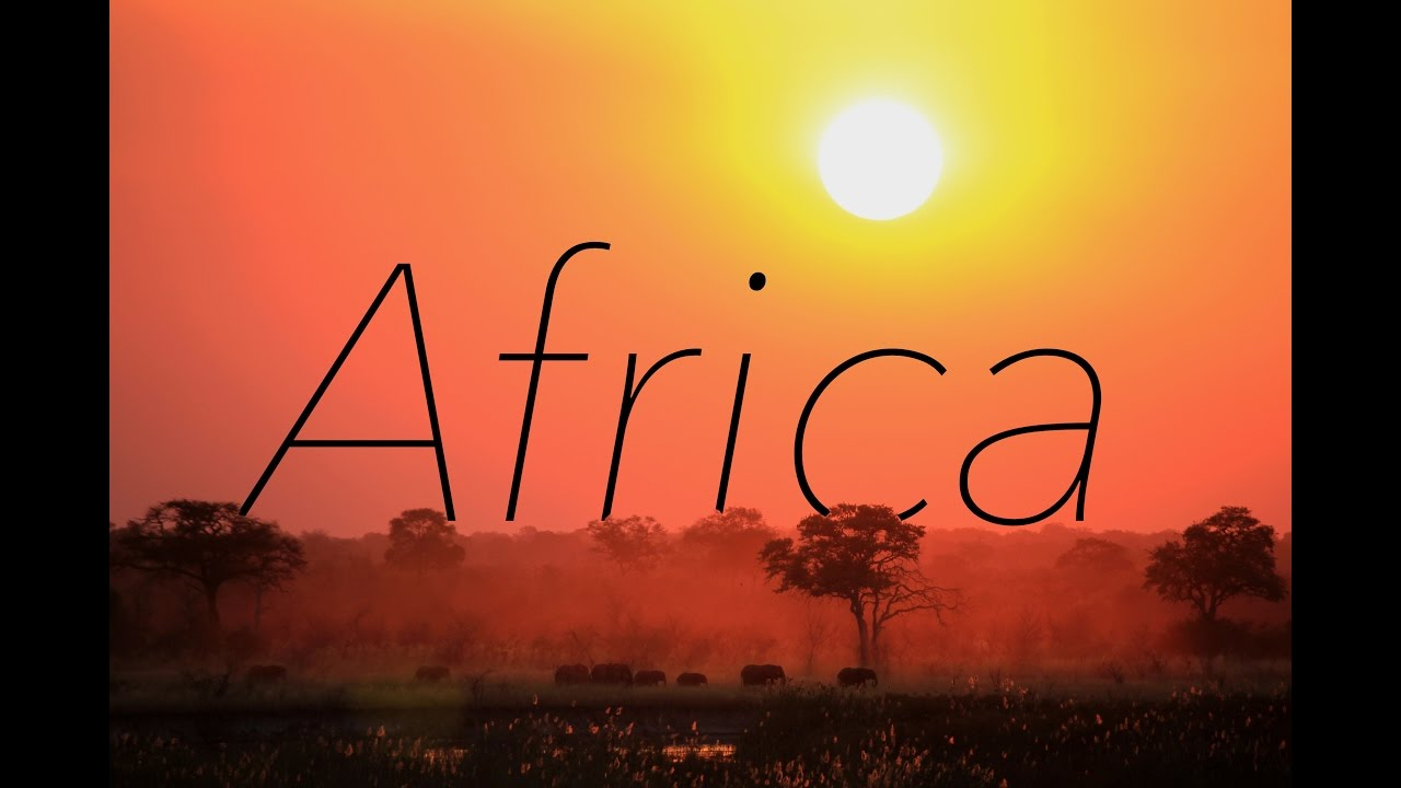 the beauty of africa cinematic impressions in 4k youtube