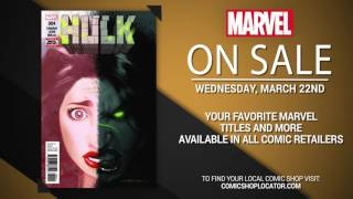 Marvel NOW! Titles for March 22nd