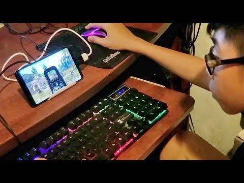 Chơi Thử Game PUBG Mobile = Chuột Và Bàn Phím. Cảm Giác đã Như Trên Máy Tính PC