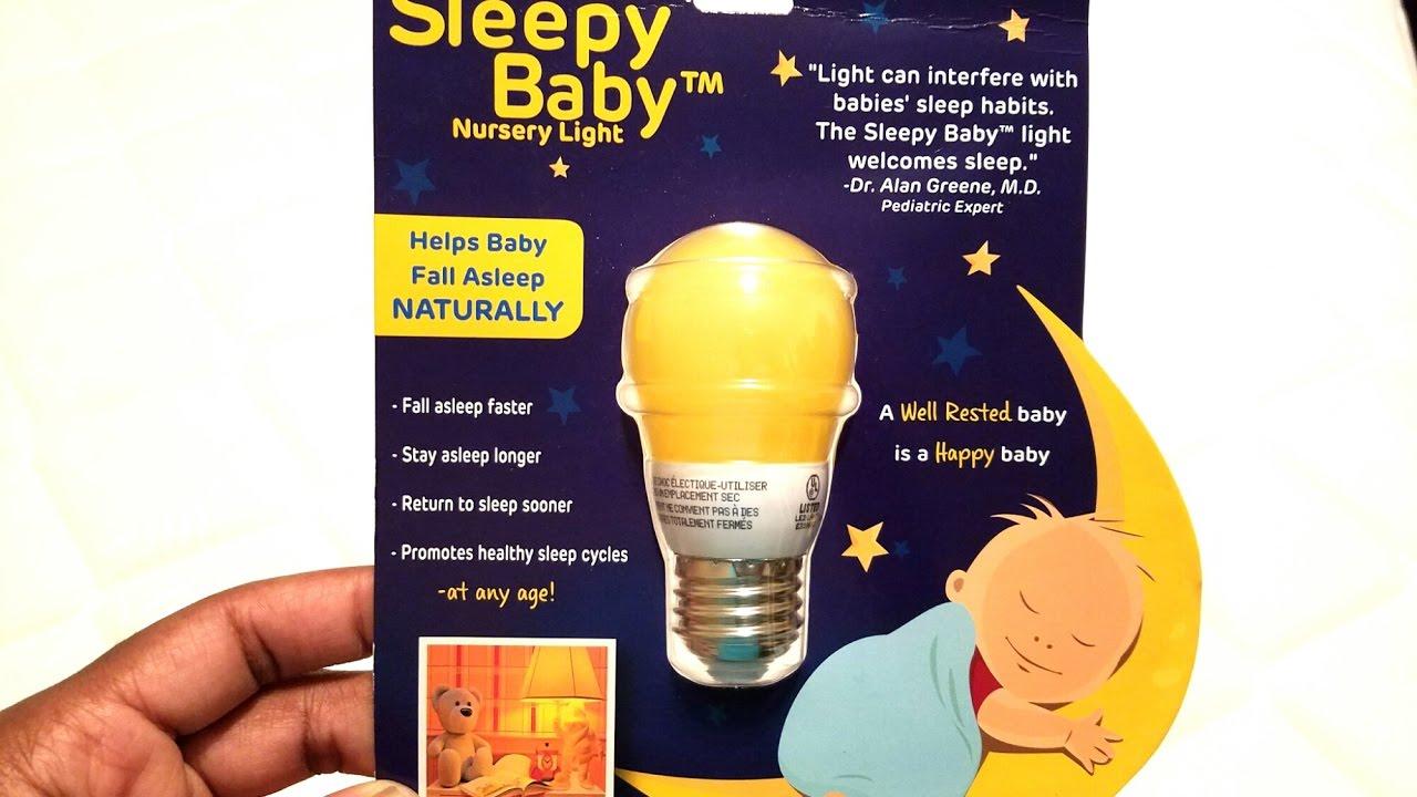 Sleepy Baby Nursery Light Lighting Science