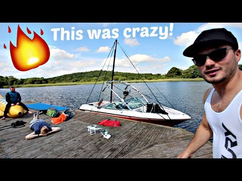15ft Wakeboarding Pylon Challenge. What Is Possible?