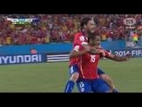 Chile vs Australia 3-1 2014 Goles Y Resumen Copa Mundo Brasil 2014 14/06/2014 Chile 3 Australia 1