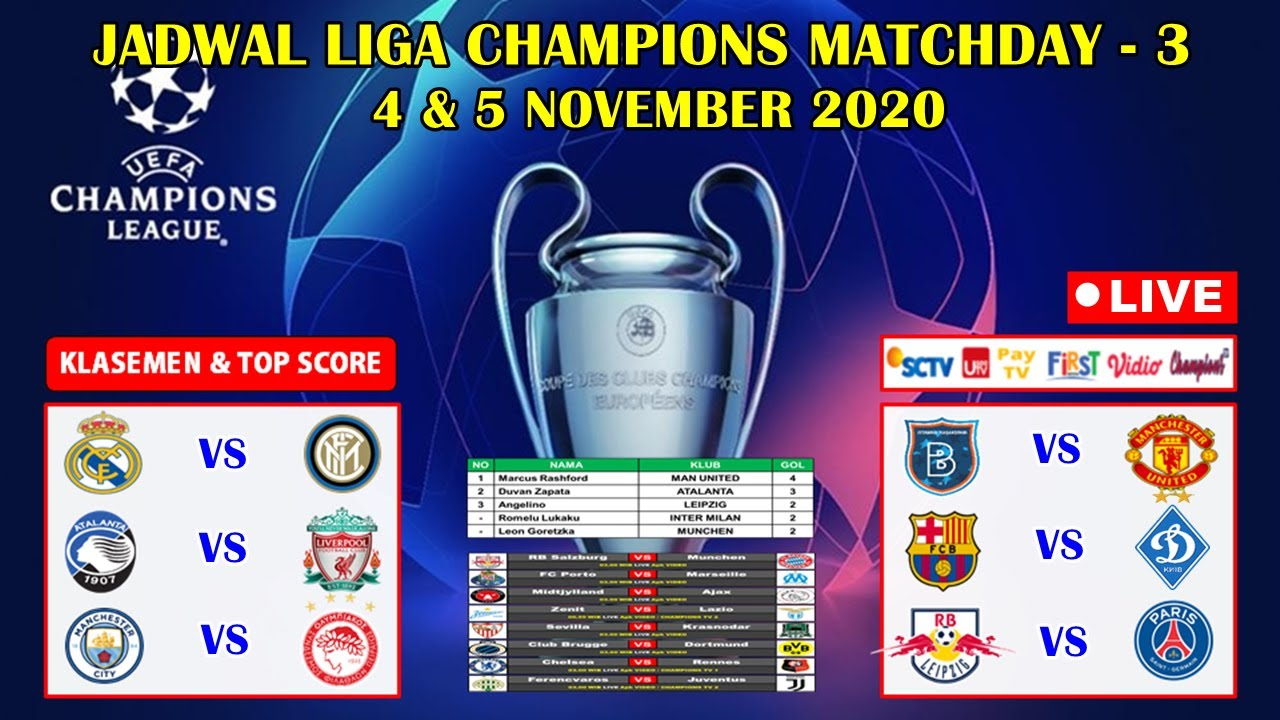 Jadwal Liga Champions Live SCTV ~ Barcelona VS Dinamo Kyiv ...
