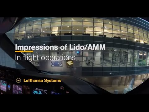 Lufthansa Systems Lido/Navigation: The view from a cockpit