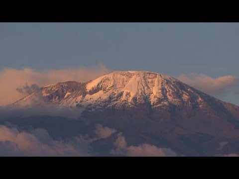 Kilimanjaro's melting peak