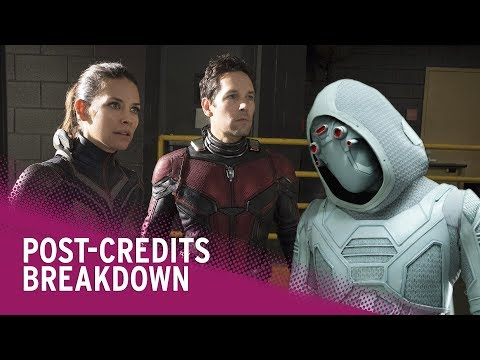 Ant-Man and The Wasp Post-Credits Scenes Explained
